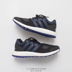 617eb91ace2d Adidas Y3 Pure Boost Zg Knit Black White