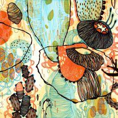 Giclee Fine Art Print  Vessel  11x11 by yellena on Etsy, $48.00