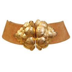 Vintage Christian Dior Golden Leaf Belt #BECCA #WishLists — Kerry Cole, Style Director