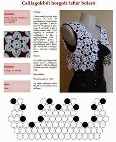 Horgolásról csak magyarul.: HORGOLT DIVAT MAGYARUL Crochet Necklace, Blog, Pink, Crafts, Clothes, Fashion, Outfits, Moda, Manualidades