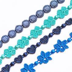 Cruciani Mars (in steel blue), Four-leaf Clover (in metilene color), Heartbeat (in navy blue), Orchid (in bluette)