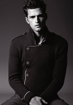 Sweater, Armani Jeans Fall/Winter 2012.