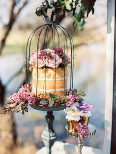 Photography: Sheradee Hurst Photography - www.sheradeehurstphotography.com Read More: http://www.stylemepretty.com/2015/06/02/lovely-lavender-wedding-inspiration/