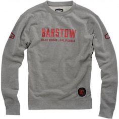 100% Brymann Mens Lightweight Pullover Crewneck Motorcycle Sweatshirt