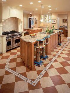 Low-Cost Linoleum Flooring HGTV