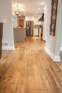 Wood Trim with Wood Floors . Wood Trim with Wood Floors. Remains Sand Dune In 2019 Solid Hardwood Floors, Living Room Wood Floor, Flooring, New Homes, House, House Flooring, Bamboo Flooring, Hardwood Floor Colors, Wood Tile Floors
