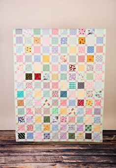 Larger 47 1/2 x 62 Child's Retro Lap or Youth Bed by CityQuilts