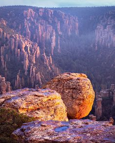 Chiricahua National Monument in Arizona...a really unique landscape