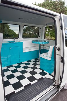 1000 images about campervan interiors clever ideas for for Vw camper van interior designs