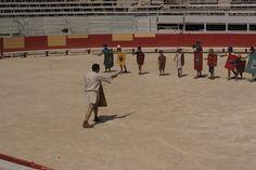 Ecole des gladiateurs pour enfants Arles