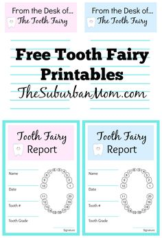 The Tooth Fairy visited our house last week for the very first time, and it was a VERY big deal. As one of the ...