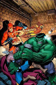 The Avengers by Arthur Adams