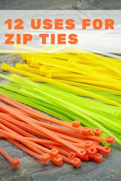 The unassuming zip tie can do much more than contain cords. It can fix a broken zipper, or help you pack for a trip. Discover why you should add zip ties to your DIY arsenal to help you with storage, gardening, and other household tasks. Pvc Pipe Crafts, Tie Crafts, Diy Crafts To Sell, Diy Crafts For Kids, Pvc Pipe Projects, Diy Projects, Homemade Cleaning Products, Natural Cleaning Products, Simple Life Hacks
