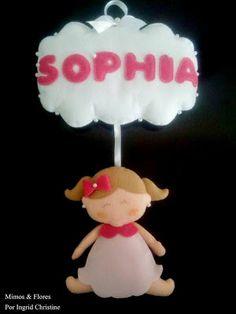 Mimos & Flores: Para a Sophia que esta a chegar!