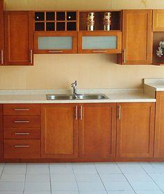 cocina estilo rustico de madera cerezo | nomar8 carpinteria en 2019 ...