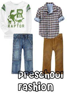 Preschool Boy Fashion from A Parenting Production