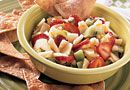 Apple Berry Salsa - The Pampered Chef® One of my ALL time favorite sweet recipes!  Great with cinnamon chips, over a brownie, over ice cream or just by the spoonful!  YUMMY!