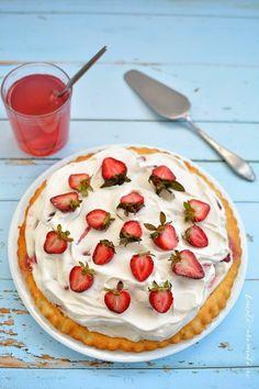 Prajituri si tarte Archives - Bucate Aromate No Cook Desserts, Cereal, Pancakes, Deserts, Cooking Recipes, Breakfast, Mai, Food, Gourmet