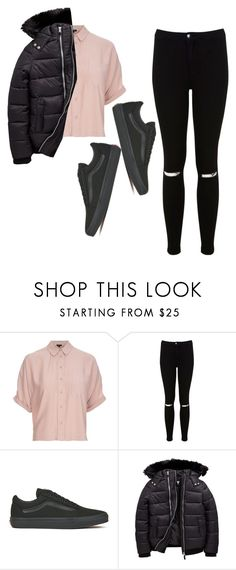 """""""Untitled #84"""" by axivq on Polyvore featuring Topshop, Miss Selfridge and Vans"""