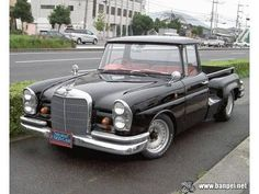 mercedes benz pickup truck custom