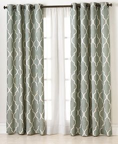 Elrene Window Treatments, Medalia 52 x 120 Panel - Extra-Long Curtains - for the home - Macy's