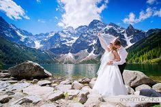 Fotografia ślubna w górach. Sesja nad Morskim Okiem #weddingphotography #mountains #zakopane #morskieoko