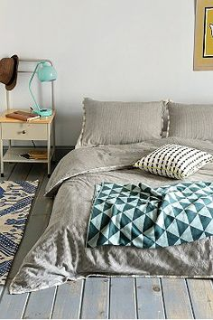 Assembly Home Between The Lines Duvet Cover - Urban Outfitters