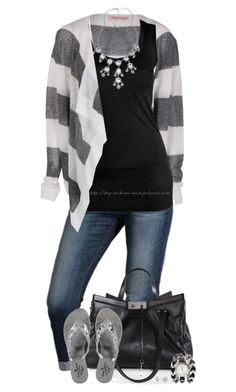 """""""Boyfriend Cardigan"""" by amber-1991 ❤ liked on Polyvore featuring Joes, Humanoid, Jimmy Choo, Melissa, Simply Silver, 2b bebe, Blu Bijoux, stripes, jimmychoo and viviennewestwood"""