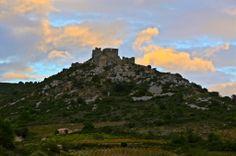 #Château d'Aguilar im Land der #Katharer