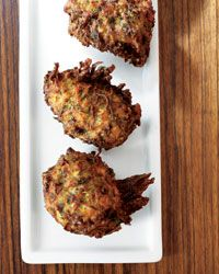 Mucver: Herbed Zucchini Feta Fritters from Food & Wine (Istanbul Mezes)