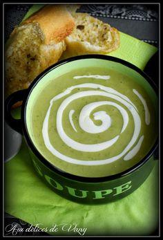 Aux délices de Vany: Soupe froide à la courgette