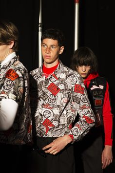 Backstage at TOPMAN LCM SS16