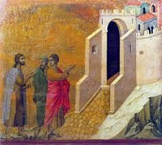 Resultado de imagen para Icono de Emaus Duccio