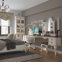 Cute Room Decor, Room Decor Bedroom, Girls Bedroom, Bedroom Ideas, My Room, Girl Room, Country Furniture, House Rooms, Design Your Own
