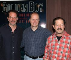 Danny Mastrogiorgio, Daniel Jenkins and Jonathan Hadary