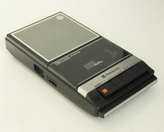 "My tape recorder! So many hours spent (waiting for and) recording my favorite songs off the radio... ! They weren't called ""mix tapes"", then... :D"