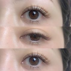 Waterproof, thickening, lengthening, defining mascara and curling mascara. Eyelash Extensions Aftercare, Permanent Eyelash Extensions, Permanent Eyelashes, Eyelash Extensions Styles, Fake Eyelashes, Makeup Tips, Eye Makeup, Curling Mascara, Kawaii Makeup