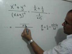 Simplificación de una Fracción Compleja con exponentes negativos: Julio Rios explica la simplificación de un ejercicio que se propone con exponentes negativos y que se convierte en una Fracción Compleja.