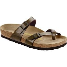 With its elegant criss-cross style and more delicate appearance than original Birkenstock models, the Mayari Narrow Sandal conjures the image of a warm summer night as well as cuffed jeans, tan toes, the smell of a campfire, or that one shandy you love. Delicate only in appearance, this sturdy sandal honors the Birkenstock family legacy with a rolling cork footbed built to conform to your foot over time.