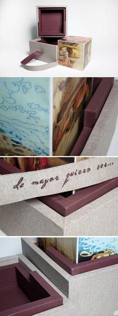 Estampas de grabado calcográfico, para un juego de niños. Con su respectivo packaging. http://carmensarrion.wix.com/designillustration#!recorded-project/cffl  #grabado #calcografico #grabadocalcografico #ilustracion #illustration #packaging #encuadernacion