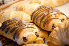 How about a chocolate croissant for a tasty snack?   #YYCEats #YYCFood