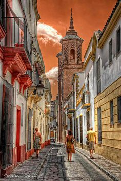 Jerez Street by Light+Shade [spcandler.zenfolio.com], via Flickr