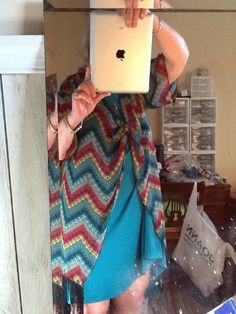 Mary is getting her fabulous on today with these bold colors! She's paired a LuLaRoe Monroe with a LuLaRoe Carly swing dress! Look at how she has that Monroe knotted in front! LOVE! Click to join my VIP group to become part of our community and be featured here! https://www.facebook.com/groups/LetTheGoodTimesROE/