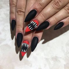 Save this for 15 over the top Halloween nail designs.