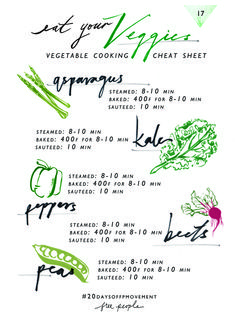 20 Days Of Movement, Day 16: Eat Your Veggies | Free People Blog #freepeople