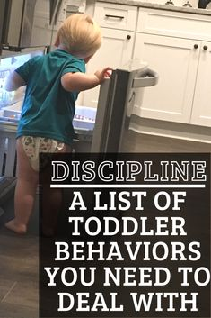 How to know when your toddler's behavior is a problem. Children need structure and boundaries in order to keep them safe from danger. Here's how!