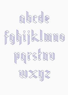 Ribbon Typeface on Behance