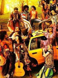 New Yorks Musical Band the Hair Hippie Love, Hippie Bohemian, Hippie Chic, Hippie Style, Punk Fashion, Vintage Fashion, Hippie Fashion, 1960s Party, Sweet Charity