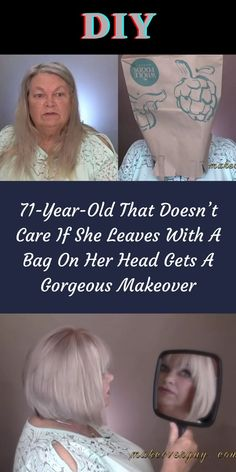 Though she was retired from her job, she still had the work of caring for her 6 and 9-year-old great-granddaughters. #71YearOld #Gorgeous #Makeover 1 Dollar Shop, Jupiter Planet, Oscar Fish, Office 365, Paragliding, Diets For Beginners, Helium Balloons, Crocodiles, Diy Carpet