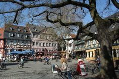 Hoechst - Frankfurt, Germany.  We lived here for 3 years.